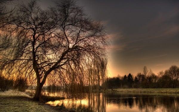 Gün batımının muhteşemliği