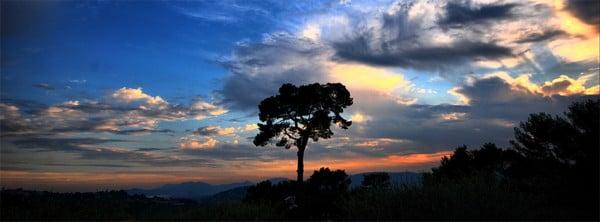Güzel Gökyüzü Manzarası Facebook Kapağı