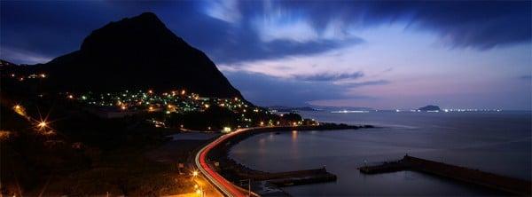 Güzel Gece Manzarası Facebook Kapağı