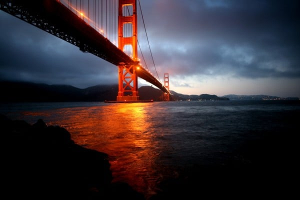 Golden Gate Gece