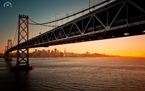 Golden Gate Köprüsü Manzarası