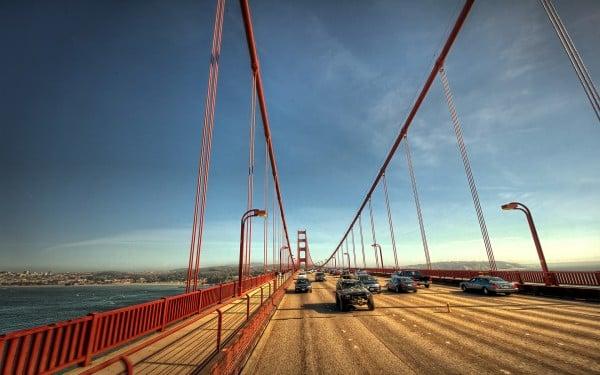 Gate Köprüsü araçlar