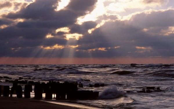 Hüzmeli gün batımı