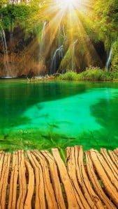 Harika Göl Manzarası iPhone 6 Plus