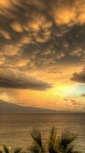 Harika Gün Batımı ve Bulutlar 1080x1920