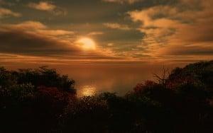 Harika gün batımı
