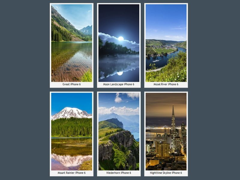 Harika iPhone 6 Duvar Kağıtları