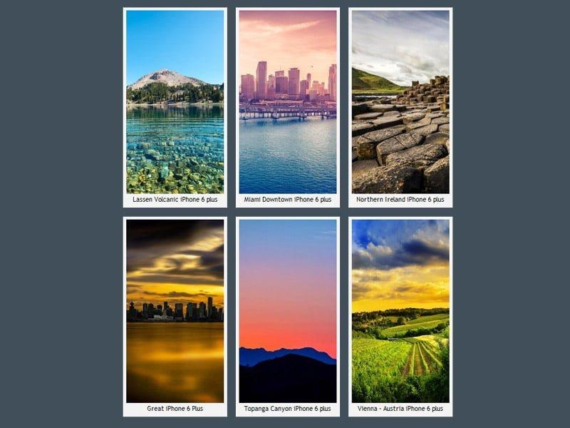 Harika iPhone 6 Plus Duvar Kağıtları