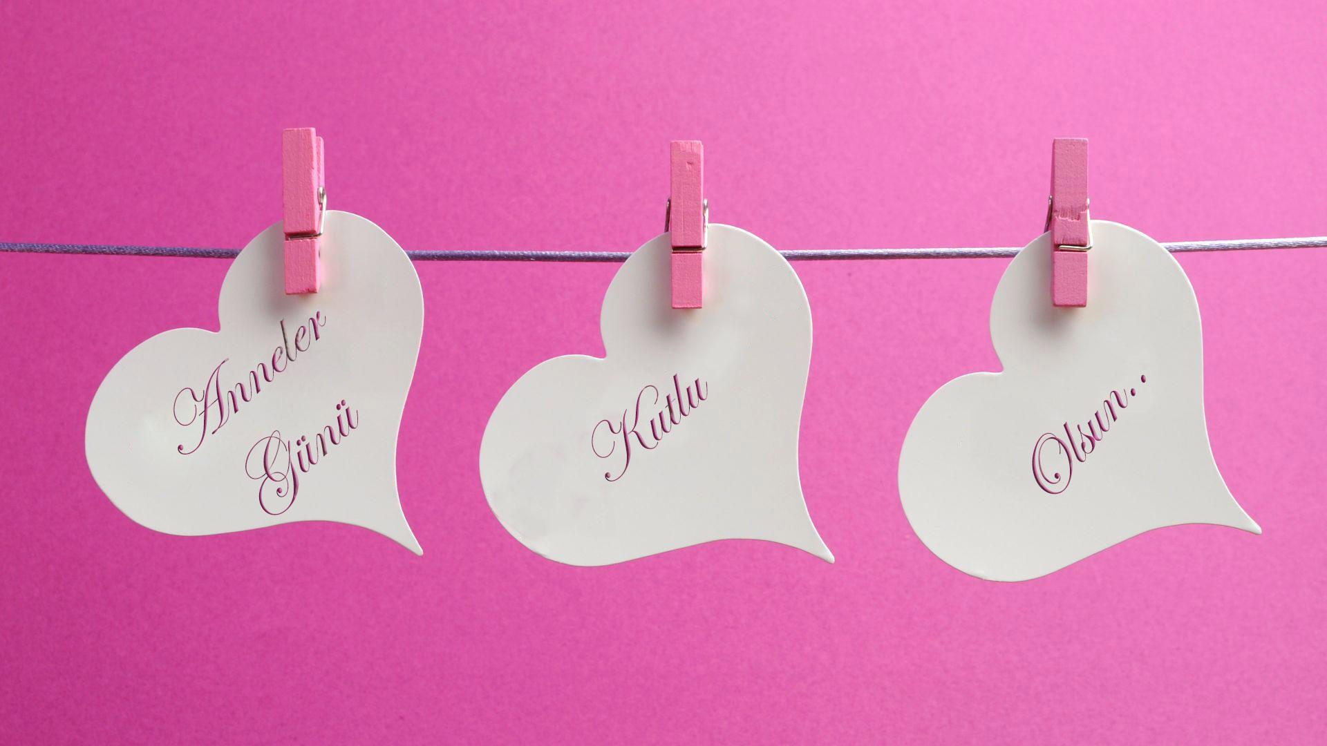 Kalpli Harika Annler Günü Mesajı (Resimli). Anneler Günü Mesajı Resimli..
