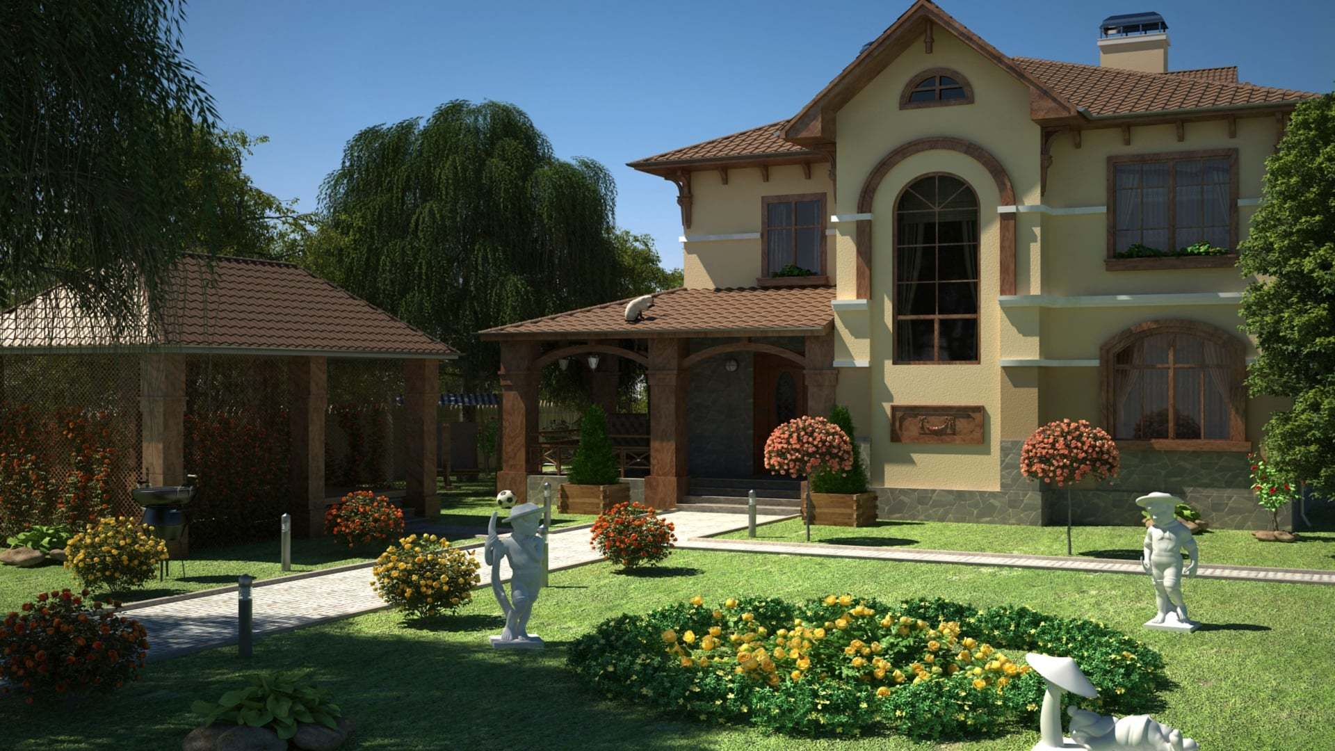 Kamelya'lı Villa