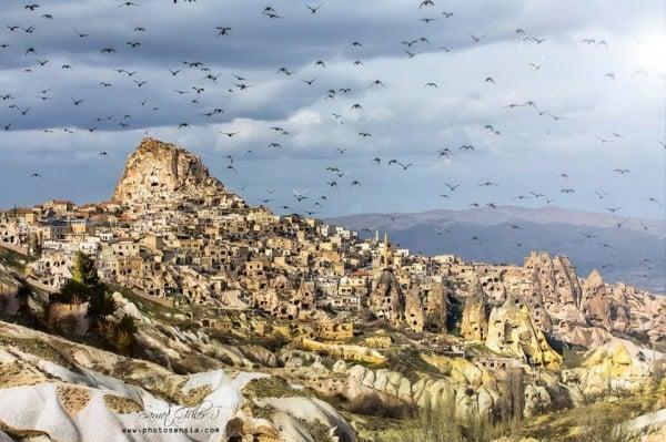 Kapadokya Güvercin Vadisi