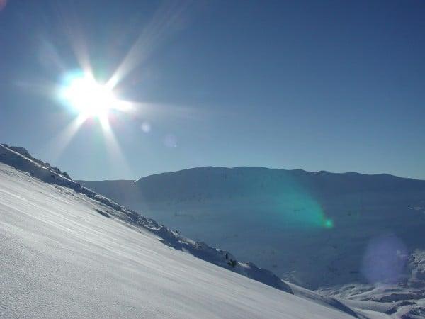 Kar ve güneş