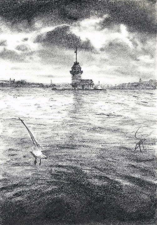 Kara Kalem Kız Kulesi