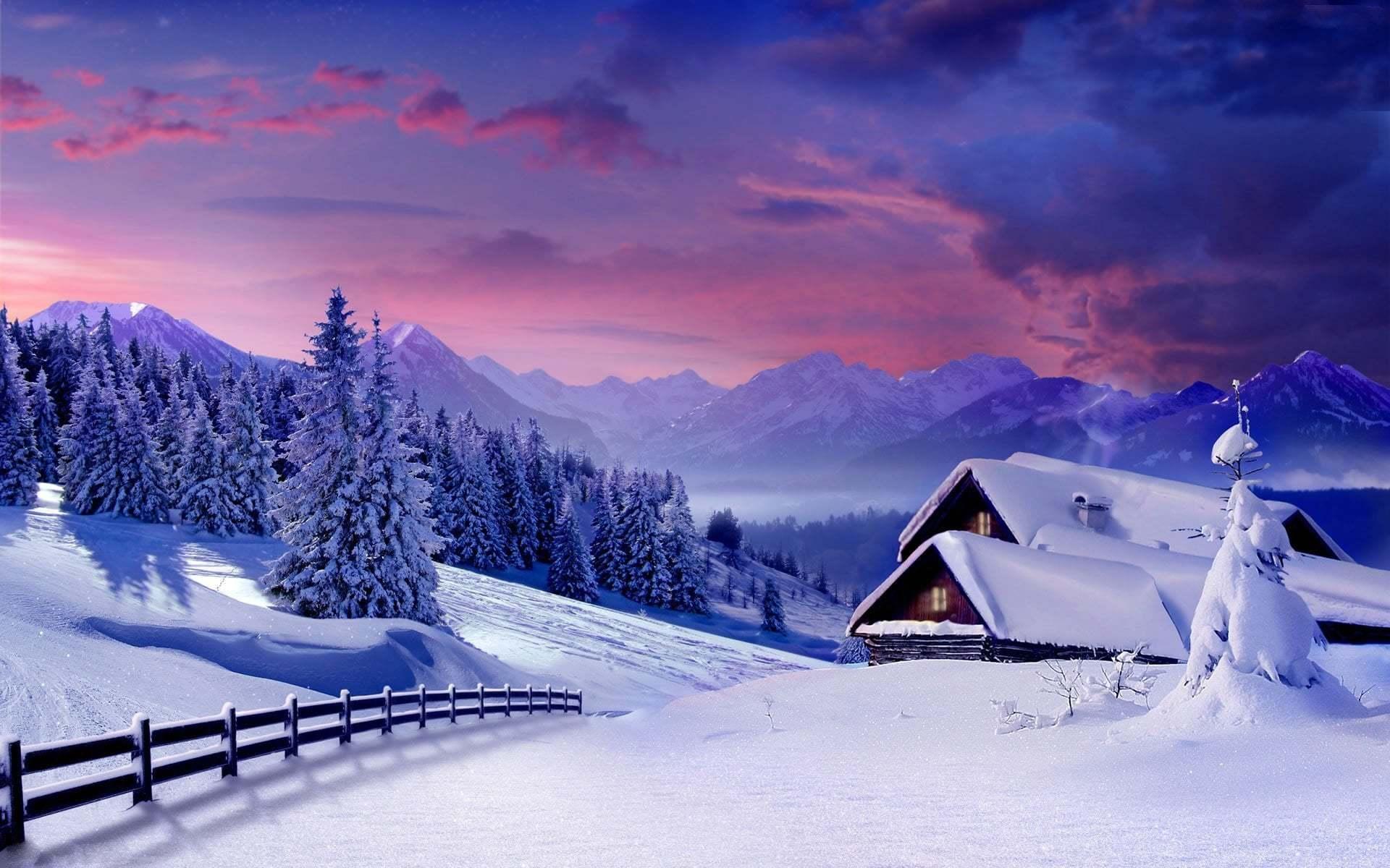Karlı Dağ Resimleri