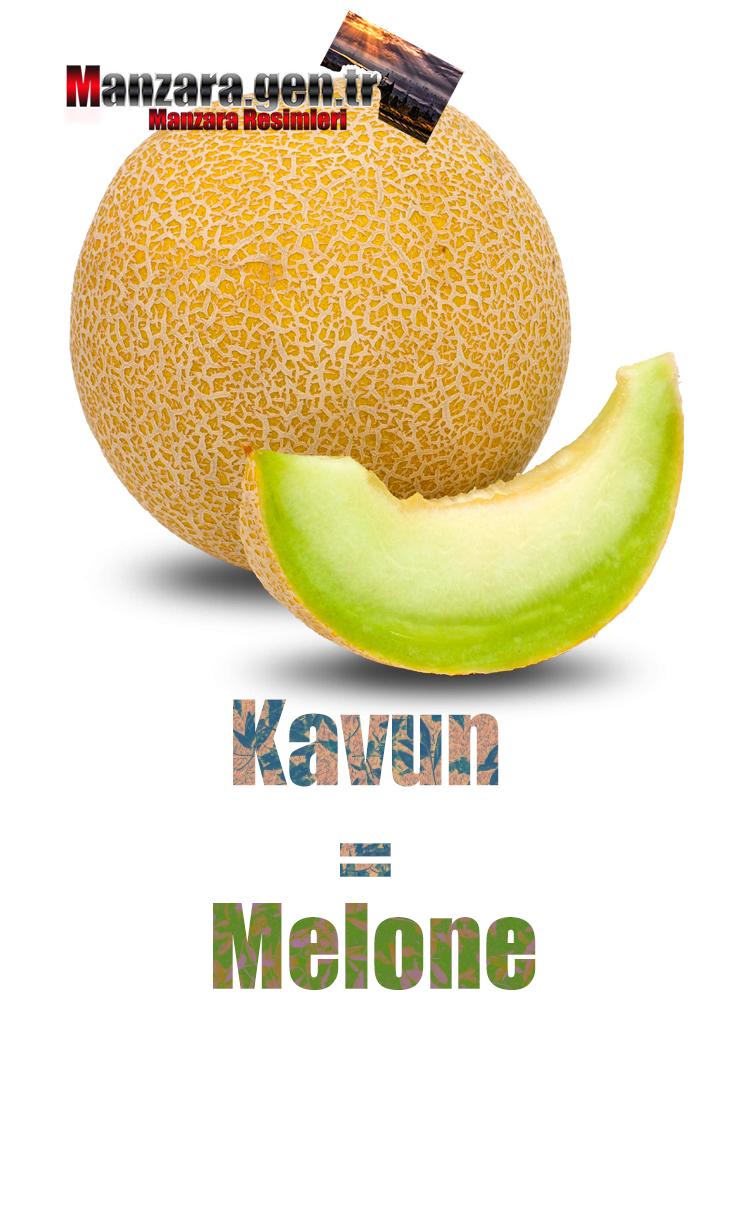 İtalyanca Meyve İsimleri - Kavunun İtalyancası Nedir ? Kavun İtalyanca Nasıl Yazılır ? Che cos'è il turco in melone? Come scrivere melone in turco?