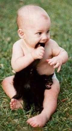 Kedi Isıran Bebek