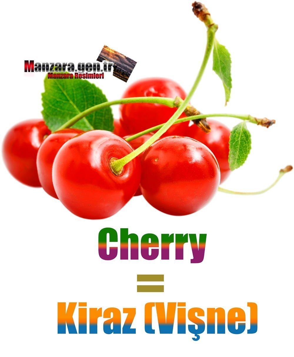 Kirazın İngilizcesi (Cherry)