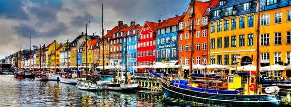 Kopenhag Manzarası Facebook Kapağı