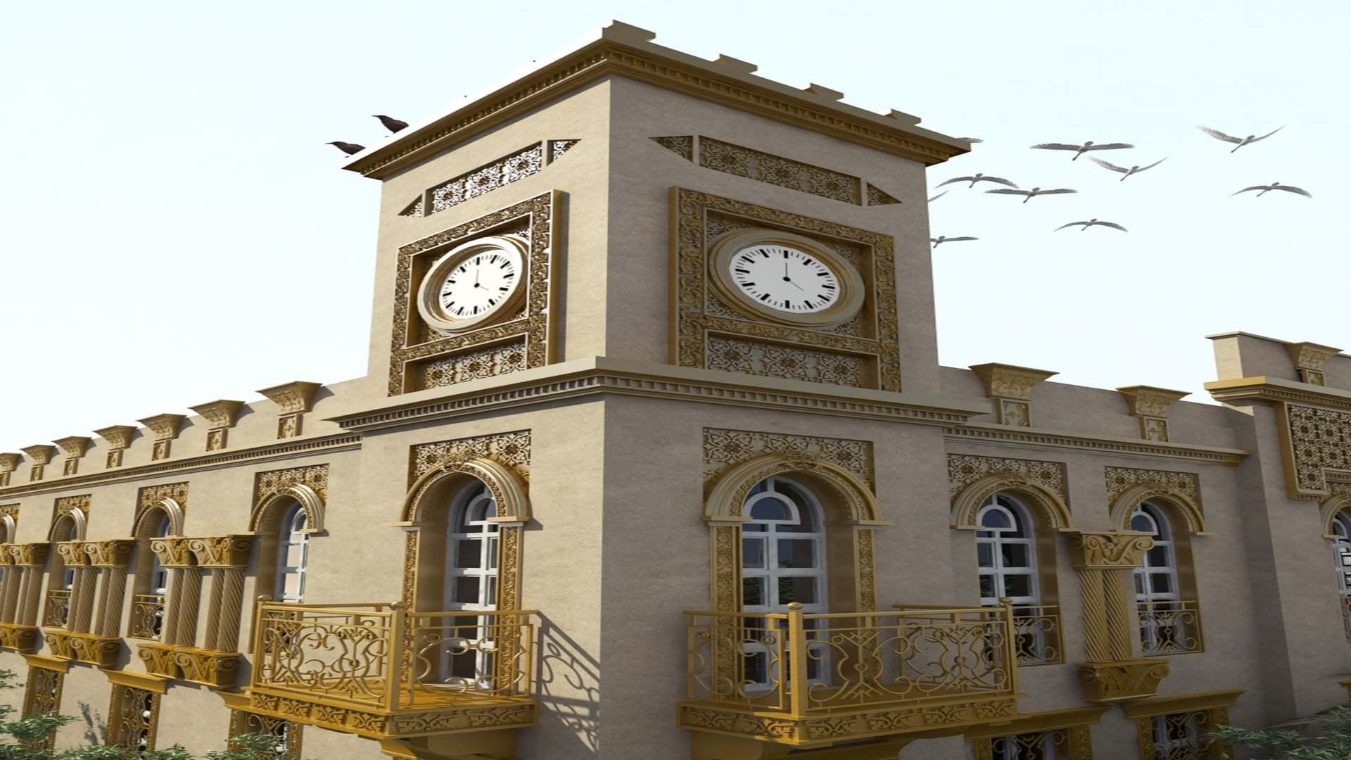 Libya'daki Malikane'nin Sol Yan Cephesi