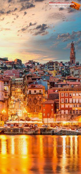 Lizbon Şehri Manzarası Samsung Note 20 Ultra