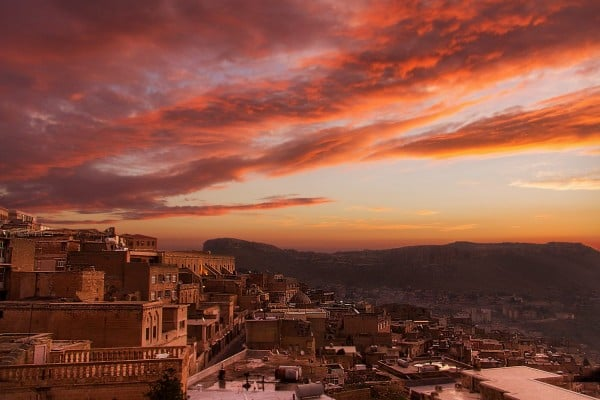 Mardin'de sabah