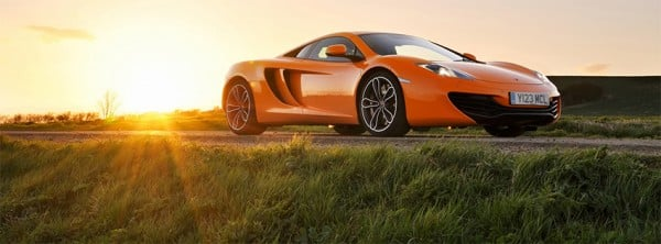 Mclaren Mp4 12c Facebook Kapağı