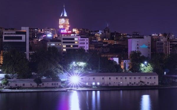 Renkli Galata Kulesi