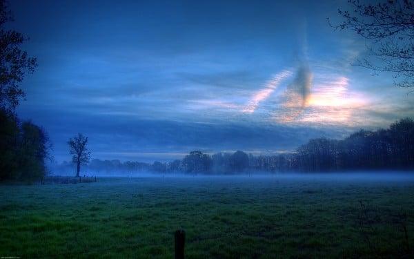 Muazzam gün batımı