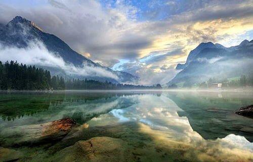 Muhteşem Avusturya Manzarası