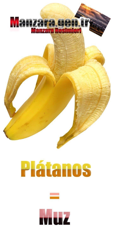 Muzun İspanyolcası (Plátanos)