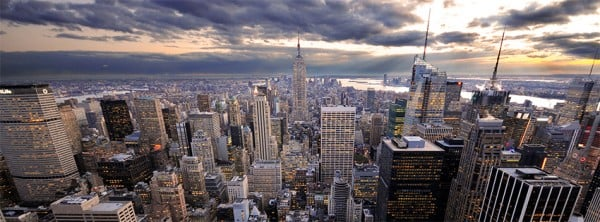 New York Manzarası Facebook Kapağı