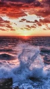 Okyanusta Gün Batımı 1080x1920