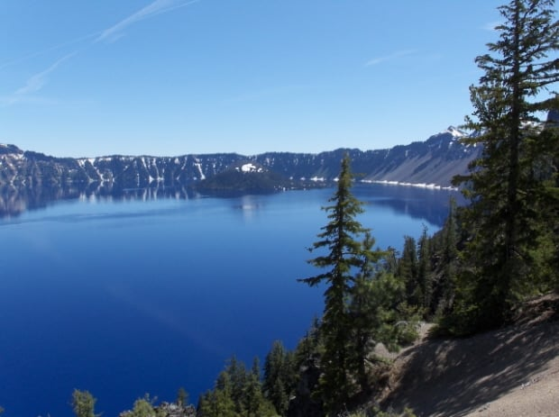 Oregon Krater Gölü Resmi