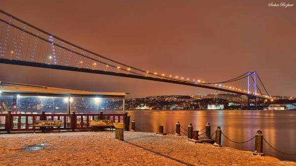 Ortaköy HDR Uzun pozlama