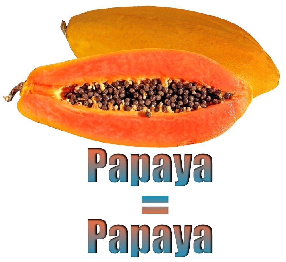 Papayanın İngilizcesi (Papaya)