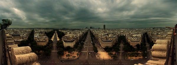 Paris Manzarası Facebook Kapağı