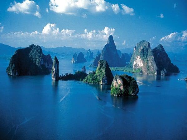 Doğa harikası Phang Nga