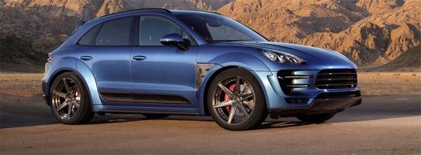 Porsche Macan Ursa Blue Facebook Kapakları