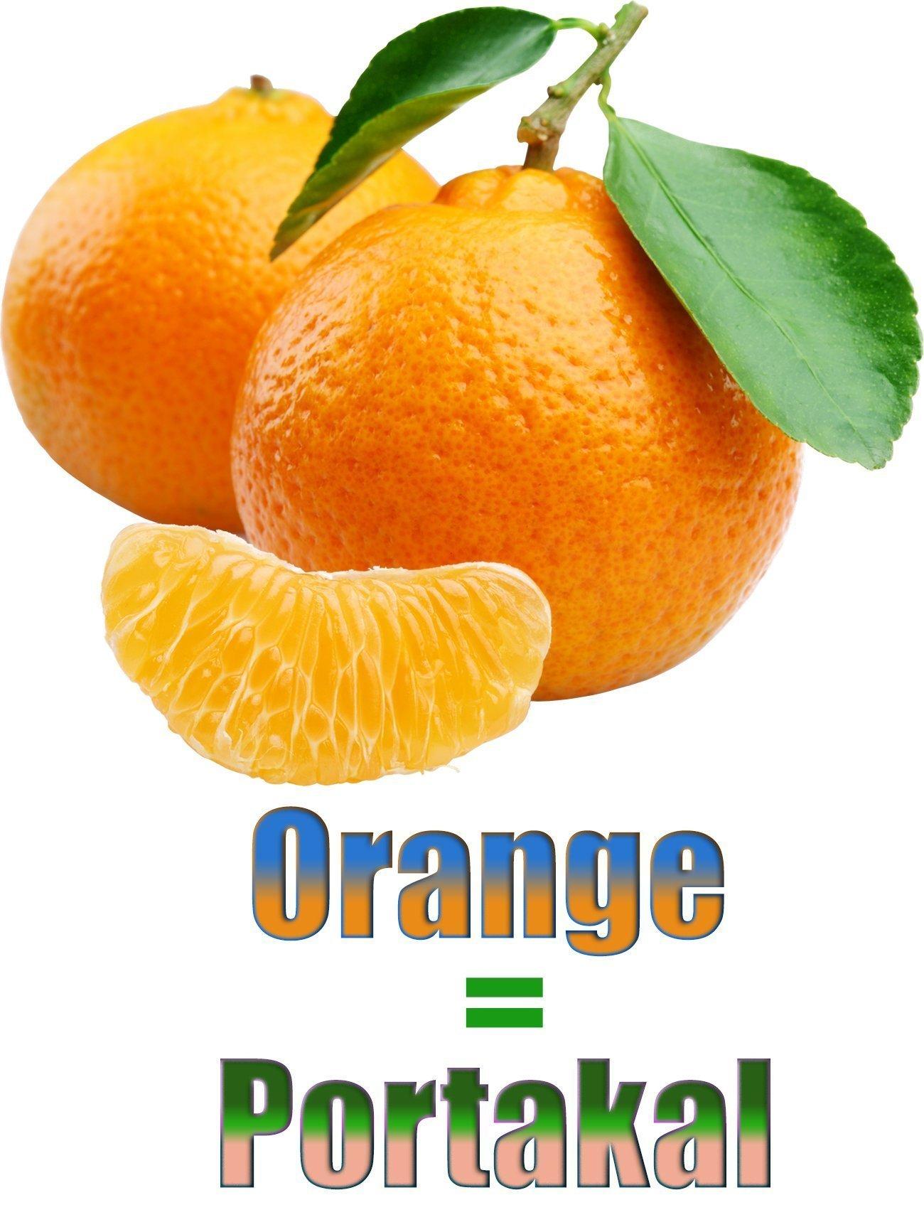 Portakalın İngilizcesi (Orange)