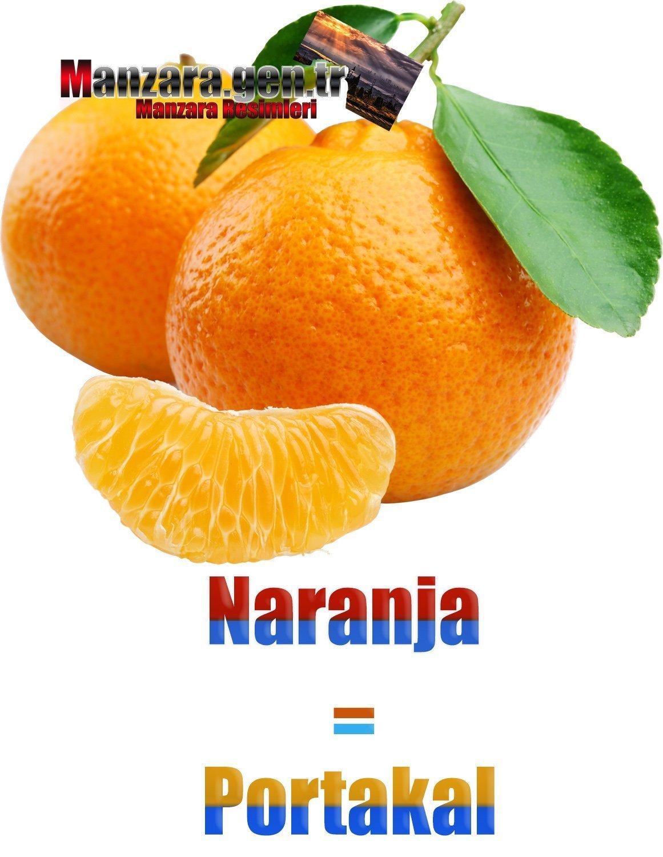 Portakalın İspanyolcası (Naranja)