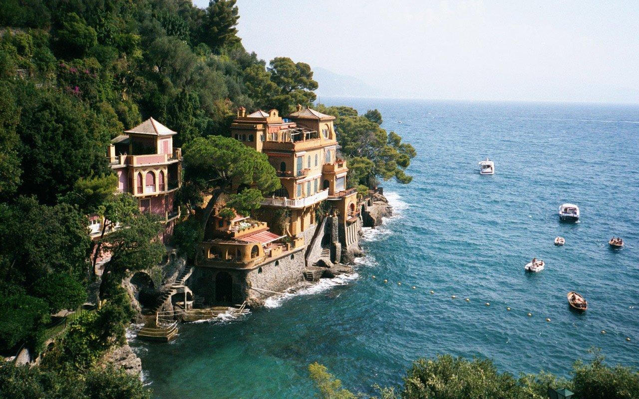 Portofino-İtalya
