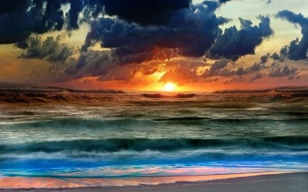 Renkli Gün Batımı