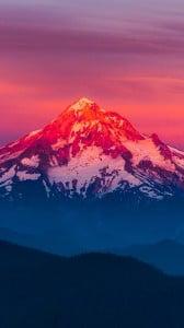 Süper Dağ Manzarası iPhone 6 plus