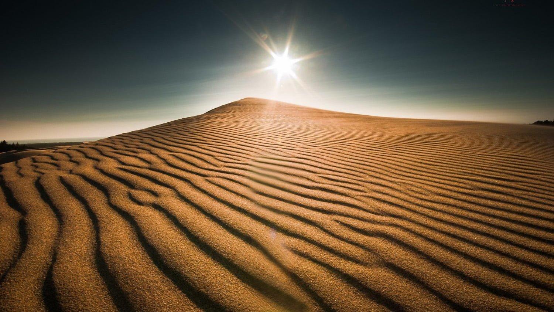 Sahra Çölü Manzarası..
