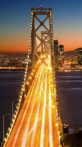 San Francisco Köprüsü iPhone 6