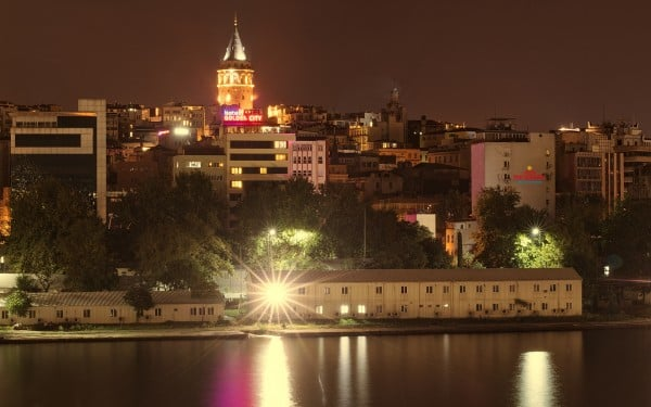 Sarı Galata Kulesi