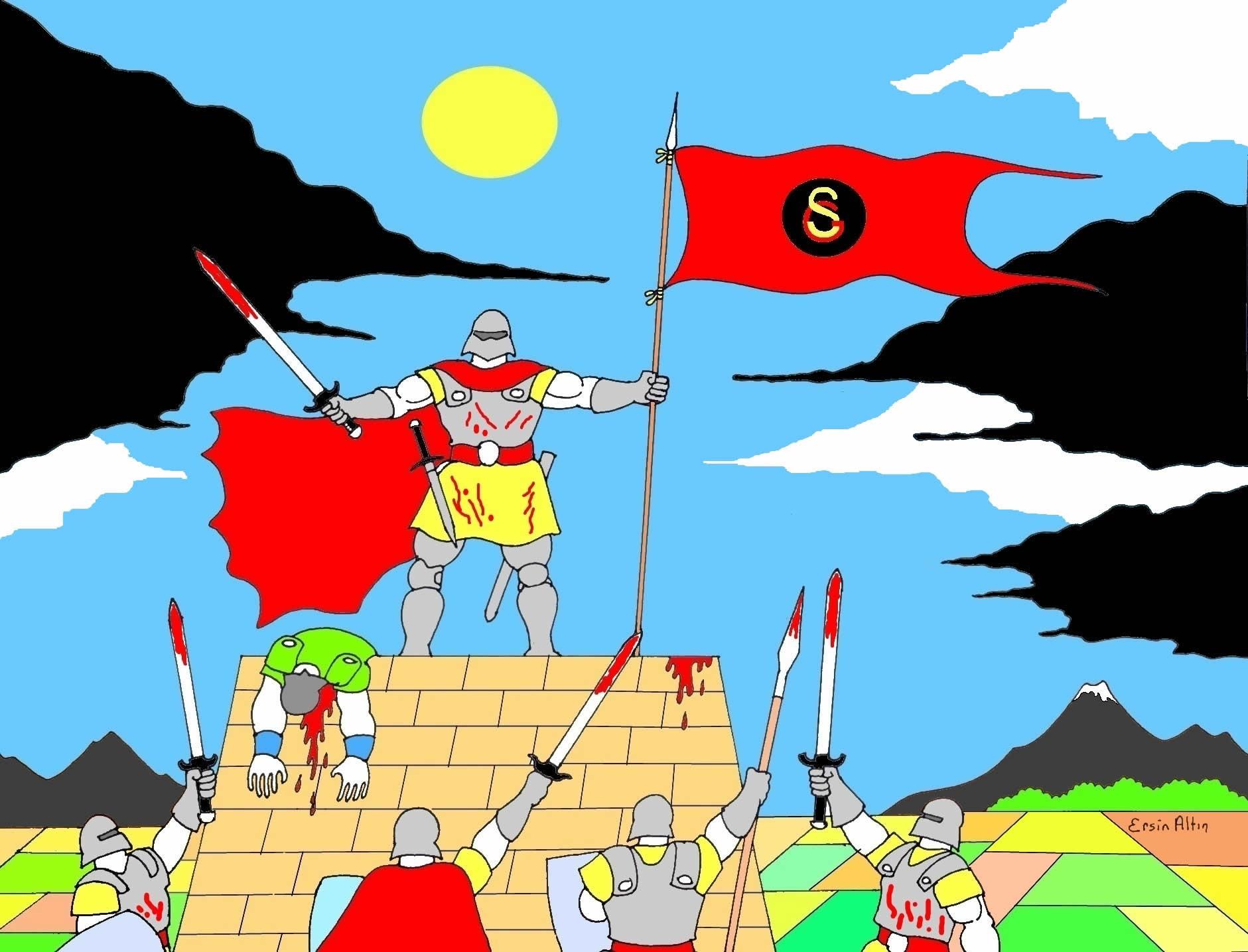 Savaşçı Galatasaray