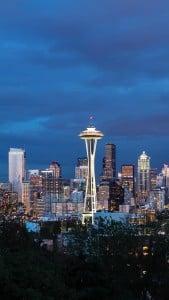Seattle Akşam Manzarası  iPhone 6