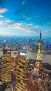 Shanghai Gün Batımı iPhone 6