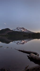 Sparks Lake Sunrise iPhone 6 Plus